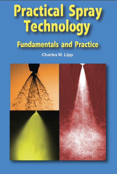 Practical Spray Technology Book cover with spray nozzles